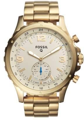 Fossil Q Nate Bracelet Hybrid Smart Watch, 50mm