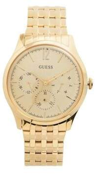 GUESS Chronograph Goldtone Bracelet Watch