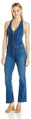 Joe's Jeans Women's Micro Flare Halter Jumper Jean