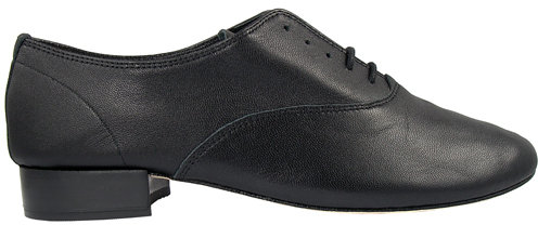 Repetto Zizi Leather Oxford In Black