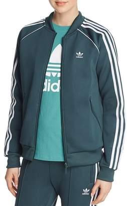 adidas Stripe-Detail Track Jacket