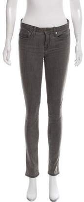 Helmut Lang HELMUT Mid-Rise Skinny Jeans