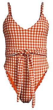 Mara Hoffman Women's Gamela One-Piece Bikini