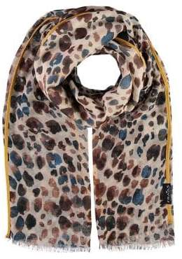 Fraas Wild Animal Printed Scarf