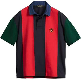 Burberry Reissued striped polo shirt
