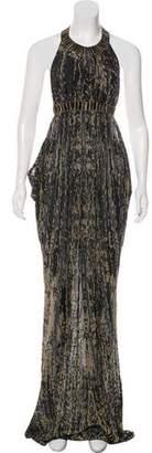 Chanel Cutout Maxi Dress