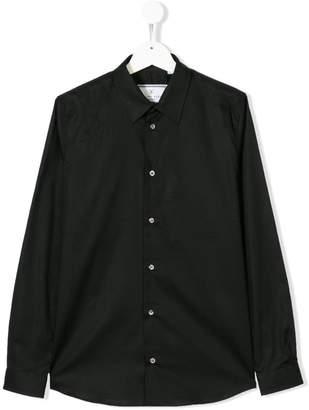 Philipp Plein Junior long-sleeve fitted shirt