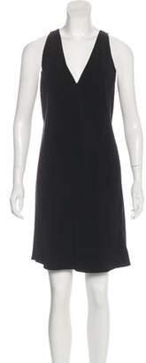 Rick Owens Sleeveless V-Neck Dress