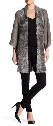 Vertigo Fuzzy Eyelash Knit Cardigan $170 thestylecure.com