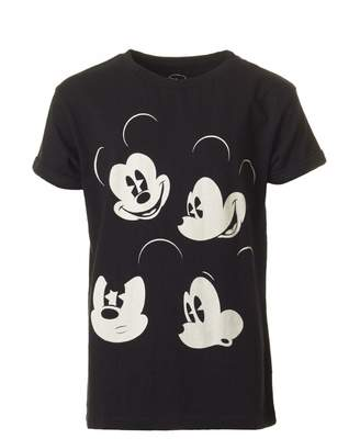 Little Eleven Paris Mickou Mickey Mouse Profile T-shirt