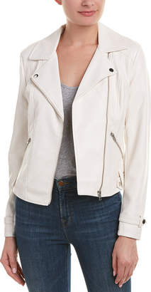 Romeo & Juliet Couture Ribbed Moto Jacket