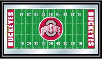 NCAA Kohl's Ohio State Buckeyes Framed Football Field Wall Art