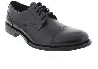 Deer Stags Mode Mens Cap-Toe Leather Dress Oxfords