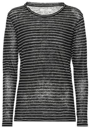 Etoile Isabel Marant Isabel Marant, Étoile Kaaron striped linen and cotton top