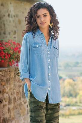 Soft Surroundings Tencel® Denim Shirt I
