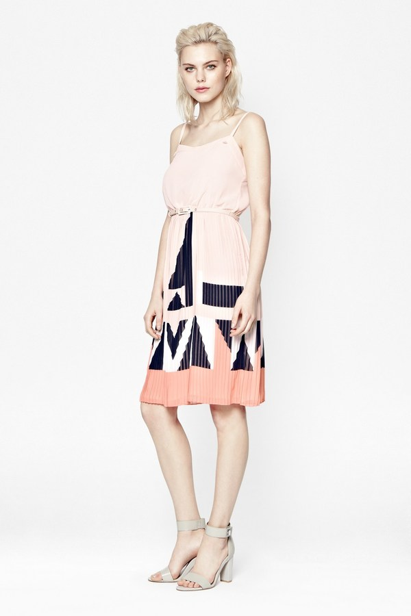 French Connection Marquee Parade Strappy Dress