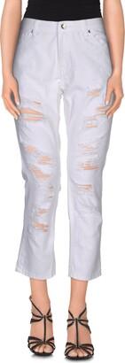 Silvian Heach SH by Denim pants - Item 42506797OA