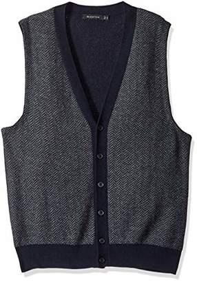 Bugatchi Men's Regular Fit V-Neck Sweater Vest