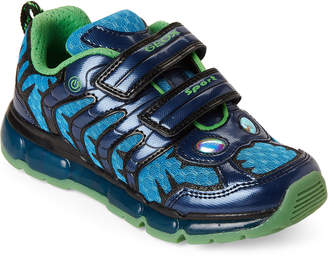 1cfbf52d960 Geox Kids Boys) Navy Android Light-Up Sneakers