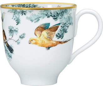 Hermes Carnets d'Equateur Mug with Birds