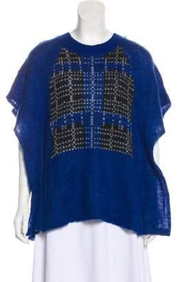 Thakoon Short Sleeve Sweater