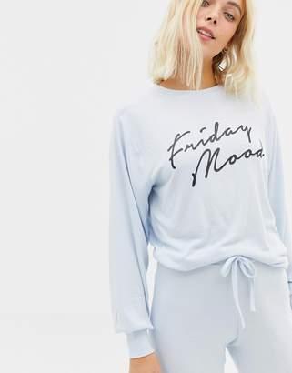 New Look Friday Mood Sweat Top