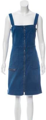 Stella McCartney Denim Zip-Up Dress