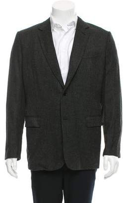 Christian Dior Two- Button Virgin Wool Blazer