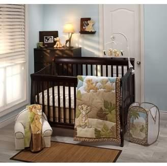 Disney Lion King Urban Jungle Piece Crib Bedding Set