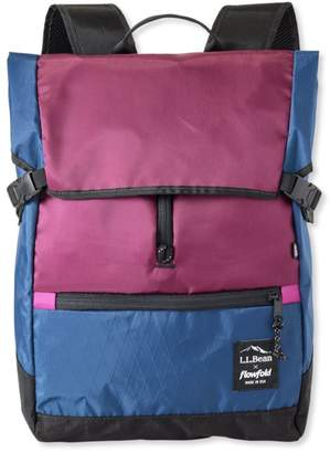 At L Bean X Flowfold Center Zip Pack