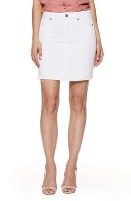 Paige Elaina Released Hem Denim Skirt