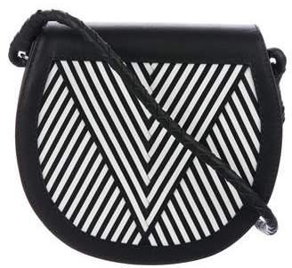 Handbag Lili Radu V Flap Mini Saddle Bag