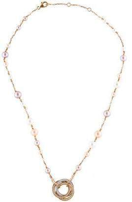 Cartier Pearl Trinity de Necklace