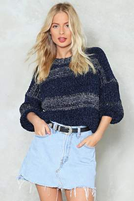 Nasty Gal Just Give Me a Reason Chenille Sweater