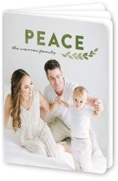 Peace Of Pine Holiday Booklette Card