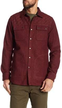 Jeremiah 'Patton' Embroidered Neppy Shirt Jacket