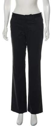 Issey Miyake Mid-Rise Wide-Leg Pants w/ Tags