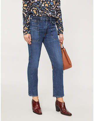 Citizens of Humanity Kamila flared cropped high-rise jeans