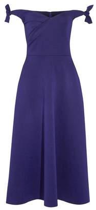 Saloni 3/4 length dress