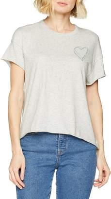 Marc O'Polo Denim Denim Women's 844210151375 T - Shirt White (offwhite melange 118) Large