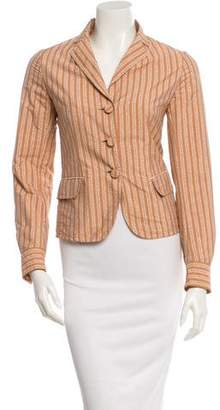 Bottega Veneta Fitted Crinkled Jacket w/ Tags