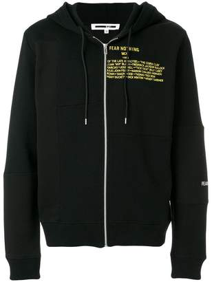 McQ Fear Nothing hoodie