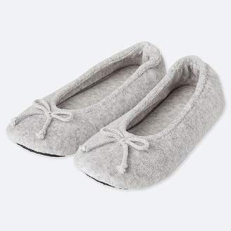 Uniqlo Women's Pile Ballet Slippers