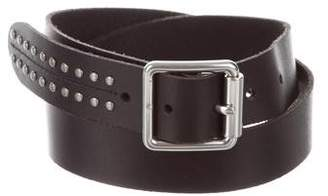 Frye Embellished Leather Belt