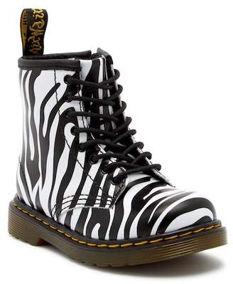 Dr. Martens Brooklee Zebra Air Wair Boot (Toddler)