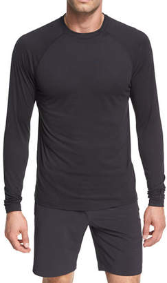 Peter Millar Crown Active Long-Sleeve T-Shirt