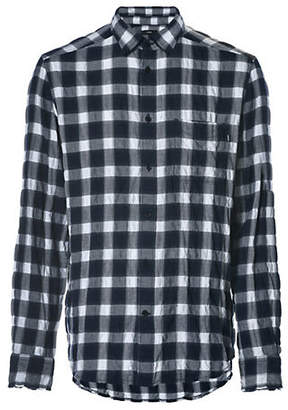 Diesel S-Anob Plaid Button-Down Shirt