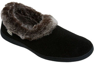 Acorn Chinchilla Collar Slipper - Women's $44.95 thestylecure.com
