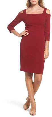 Adrianna Papell OTTOMAN FITTED DRESS