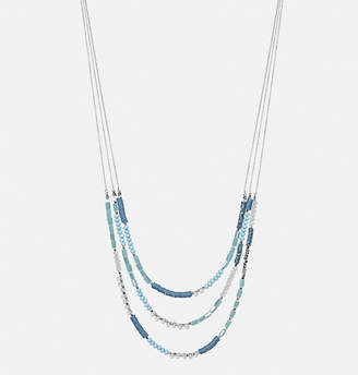 Avenue Mixed Bead Layered Necklace